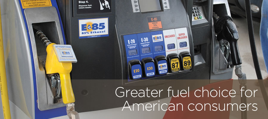 Greater fule choice for American consumers